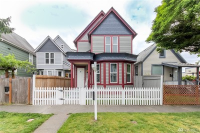 Tacoma Single Family Home For Sale: 618 S Anderson St