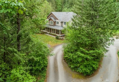 North Bend WA Single Family Home For Sale: $850,000