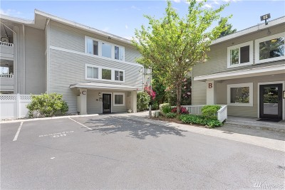 Bellevue Condo/Townhouse For Sale: 12631 NE 9th Place #C102