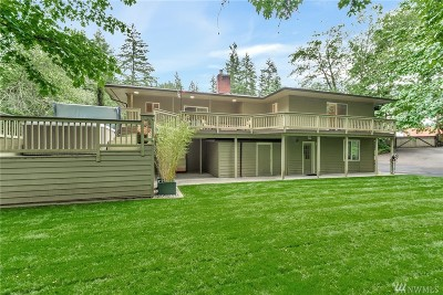 Gig Harbor Single Family Home For Sale: 11722 Goodnough Dr NW