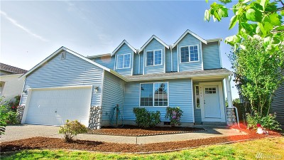 Spanaway Single Family Home For Sale: 8707 204th St Ct E