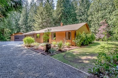 Stanwood Single Family Home For Sale: 19522 Marine Dr.