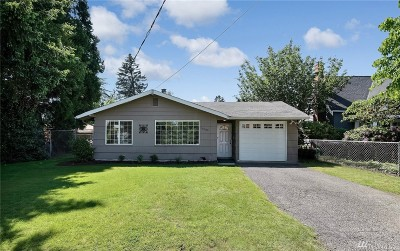 Burien Single Family Home For Sale: 16049 10th Ave SW