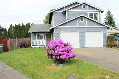 Tacoma Single Family Home For Sale: 423 135th St S