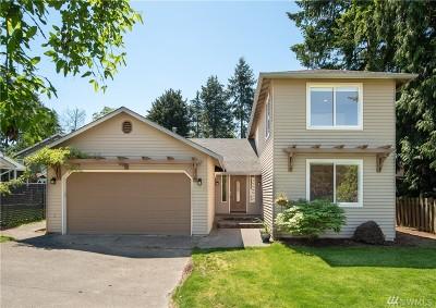 Shoreline Single Family Home For Sale: 18125 12th Ave NE