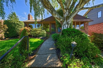 Seattle Single Family Home For Sale: 3430 Arapahoe Place W