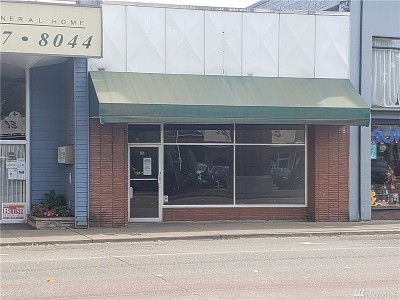 Mason County Commercial For Sale: 317 W Railroad Ave