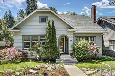Tacoma Single Family Home For Sale: 818 N Ainsworth Ave
