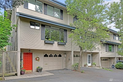 Mercer Island Condo/Townhouse For Sale: 7641 SE 29th St