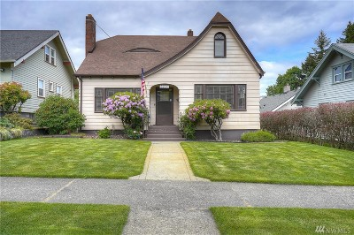 Pierce County Single Family Home For Sale: 3607 N 8th St