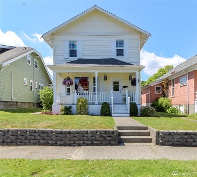 Tacoma Single Family Home For Sale: 3710 S J St