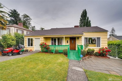 Seattle Single Family Home For Sale: 1737 S Shelton St