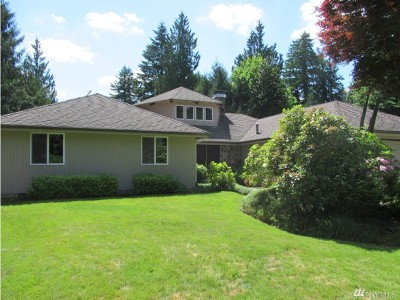 Olympia Single Family Home For Sale: 3819 Glendale Dr SE