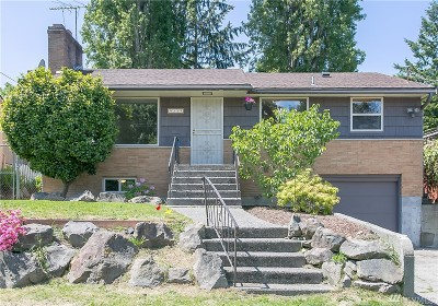 Seattle Single Family Home For Sale: 9235 Dibble Ave NW