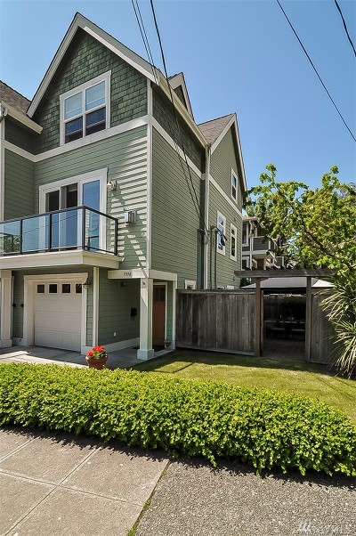 Seattle Single Family Home For Sale: 5916 SW Douglas Place