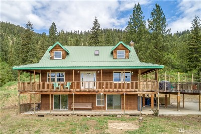 Chelan County Single Family Home For Sale: 9606 N Fork Rd