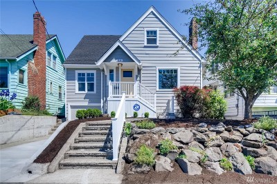 Seattle Single Family Home For Sale: 3236 15th Ave S