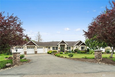 Snohomish Single Family Home For Sale: 2510 159th Ave NE