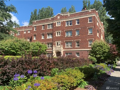 Seattle Condo/Townhouse For Sale: 110 W Highland Drive #411