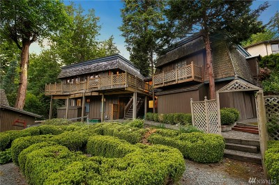 Mercer Island Single Family Home For Sale: 8553 85th Ave SE