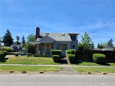 Tacoma Single Family Home For Sale: 5920 S K St