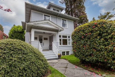 Seattle Single Family Home For Sale: 528 16th Ave E