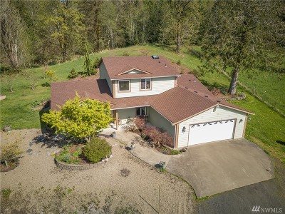 Shelton Single Family Home For Sale: 133 SE Blackwelder Rd