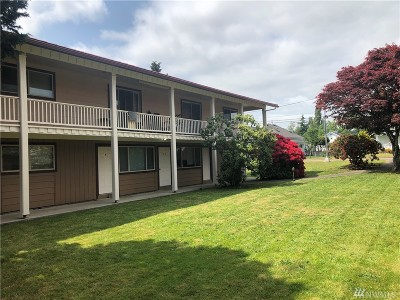 Grays Harbor County Multi Family Home Pending Inspection: 1201 W Main