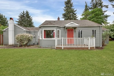Tacoma Single Family Home For Sale: 522 113th St S
