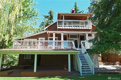 Chelan Single Family Home For Sale: 121 Downie Canyon Rd