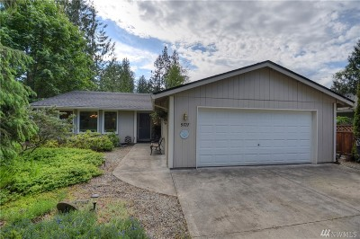 Olympia Single Family Home For Sale: 9727 Whitecap Dr NW