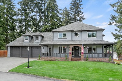 Pierce County Single Family Home For Sale: 22704 105th St Ct E