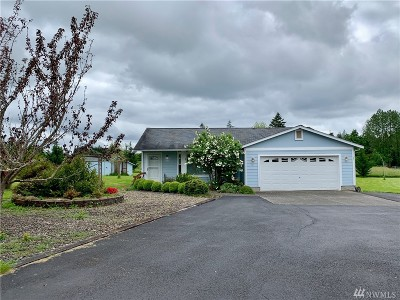 Winlock Single Family Home For Sale: 727 Rhoades Rd