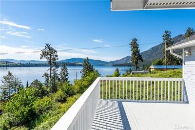 Chelan Single Family Home For Sale: 14941 S Lakeshore Rd