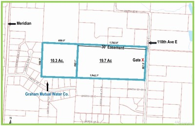 Graham Residential Lots & Land For Sale: 24222 110th Ave E #B