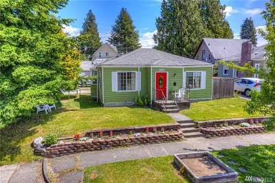 Tacoma Single Family Home For Sale: 1151 S Oakes St