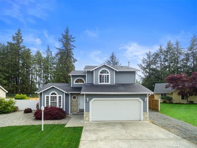 Spanaway Single Family Home For Sale: 3315 240th St Ct E