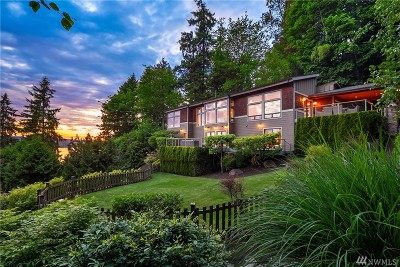 Sammamish Single Family Home For Sale: 2620 E Lake Sammamish Pkwy NE