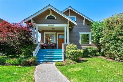 Everett Single Family Home For Sale: 1510 Rockefeller Ave
