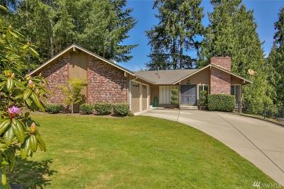 Redmond Single Family Home For Sale: 17706 NE 27th St