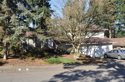 Bellevue WA Single Family Home For Sale: $790,000