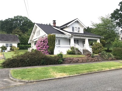 Chehalis Single Family Home For Sale: 170 SE Washington
