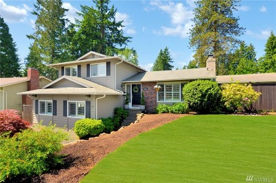Kirkland Single Family Home For Sale: 10601 NE 138th Place