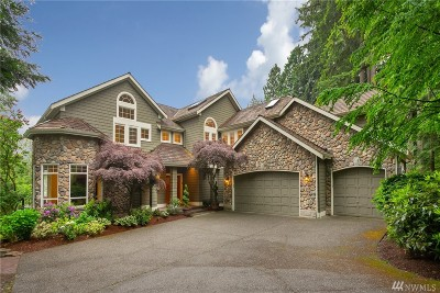 Woodinville Single Family Home For Sale: 18056 160th Place NE