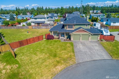 Spanaway Single Family Home For Sale: 4319 213th St Ct E