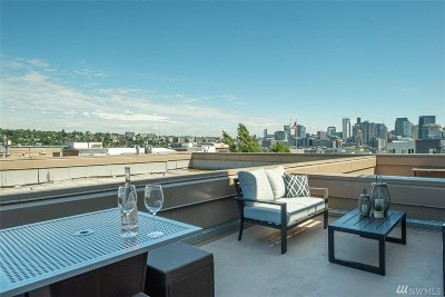 Seattle Condo/Townhouse For Sale: 701 Galer St #604