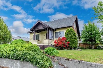 Tacoma Single Family Home For Sale: 4337 E E St