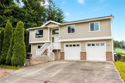 Everett Single Family Home For Sale: 2402 Melvin Ave #D