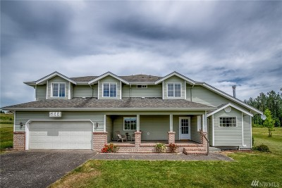 Whatcom County Single Family Home For Sale: 5844 Barr Rd