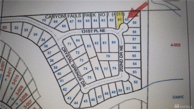 Granite Falls Residential Lots & Land For Sale: 20215 131st Place NE